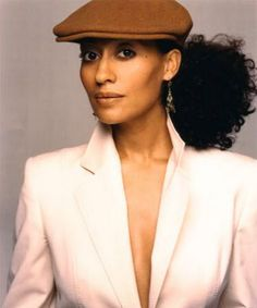 tracee ellis ross...love the color and hat