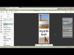 How To Create Long Collage Pins Using Picmonkey - YouTube