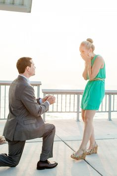 Surprise proposal | Our Preface | blog.theknot.com