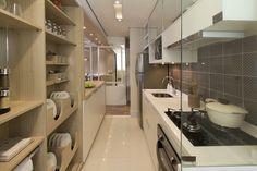 Cozinha do apartamento de 3 dormitórios do Follow