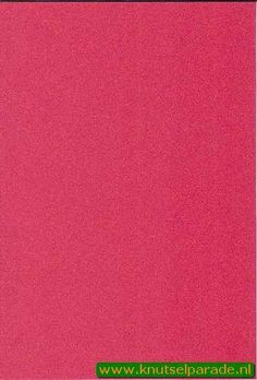Foam rubber A4 2mm 20x30 cm red 159204 - Decorations