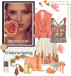 """""""Winter To Spring"""" by mzdiamondgirl ❤ liked on Polyvore"""