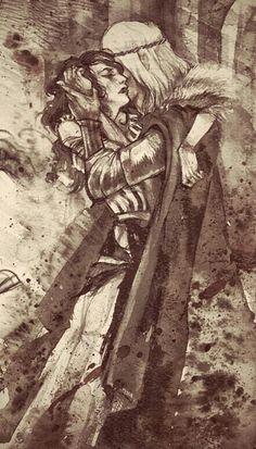 Yenna & White Wolf ❤ #love #thewitcher # GeraltOfRivia