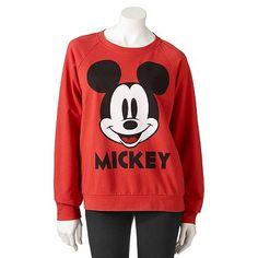 Mighty Fine Disney Mickey Mouse Sweatshirt - Juniors