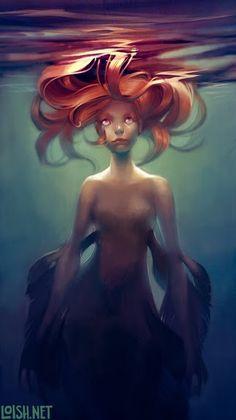 Confused Mermaid