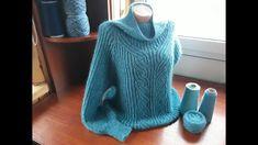 Sweater Cardigan, Chevron, Knitting Patterns, Knit Crochet, Turtle Neck, Pullover, Sweaters, Entertainment, Fashion