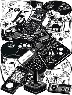 153 best video games images on pinterest vintage video games Grand Theft Auto IV video game controllers mundo geek juegos indies video game art video games