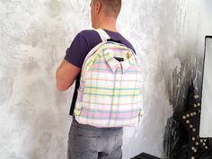 Designer backpack festival backpack cotton backpack by YouNeedEco