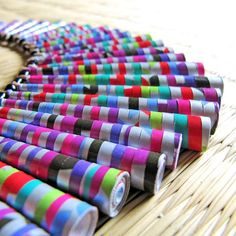 Paper jewelry  Carnival Necklace  1st anniversary by PaperMelon on etsy
