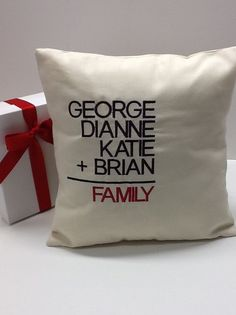 It all adds up to one very adorable personalized pillow