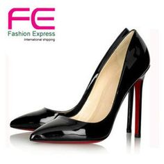 mobile site-Free Shipping 2013 Brand Women Bridal Shoes Red Bottoms High Heels Sexy Woman Pumps Ladies Pointed Toe High Heels Shoes GG1003