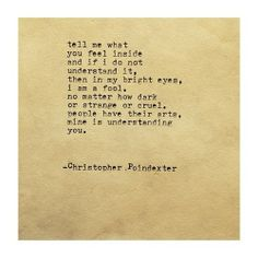 The Blooming of Madness poem #213 written by Christopher Poindexter