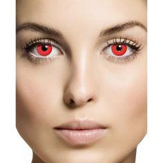 Red Eyes Kontaktlinsen Deluxe