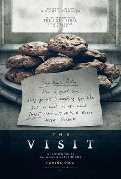 Night Shyamalan is set to return to the director's chair with new thriller movie The Visit and the first teaser poster for the film has been released. 2015 Movies, All Movies, Scary Movies, Great Movies, Movies To Watch, Movies And Tv Shows, The Visit Movie, Love Movie, Internet Movies