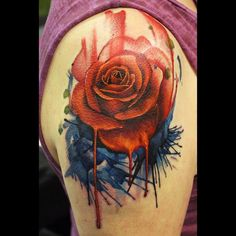 traditional english rose tattoo - Google Search