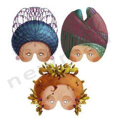 Μάσκες για διακόσμηση! Εποχιακά και είδη δώρων! | bombonieres.com.gr