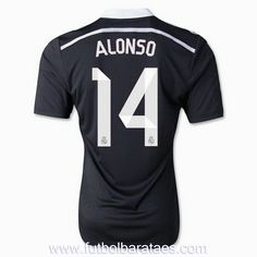 Nueva Tercera camiseta de Alonso 14 Real Madrid 2015