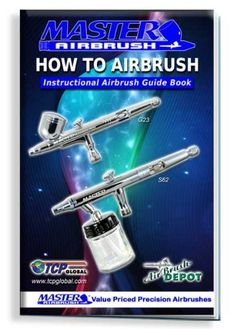 Master Airbrush How-To Airbrush Instructional Guide Booklet