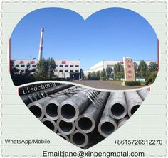 This is Liaocheng Xinpengyuan Metal Manufacturing CO.,LTD.We are a professionl manufacturer of seamless steel pipe.