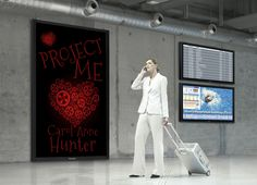 Another poster for Project Me by Carol Anne Hunter at Look 4 Books www.look4books.co.uk