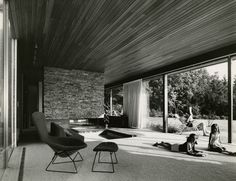 Richard Neutra Interior