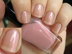 Zoya Bailey.  Light neutral pink sheer base with cool pink duochrome shimmer and sparkling silver microglitter.  Sheer.  $8