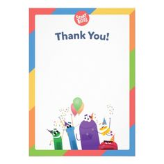 StoryBots Thank You Card - toddler birthday unique present diy cool