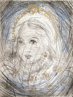 Salvador Dalí | Portrait of Marguerite (1968) | Available for Sale | Artsy