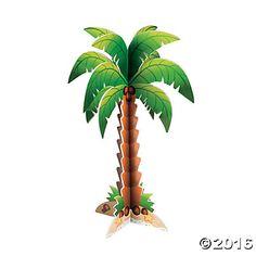 Foam Palm Tree Centerpiece