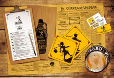 GROWLER / Cervecería. Diseño de Imagen Corporativa / Merchandising. 2015