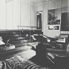 #MarcelRochas' Living Room ca 1930, #JeanMichelFrank, Photo by #RogerSchall