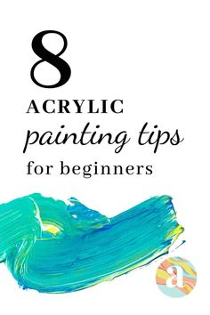 8 Acrylic Painting Tips that every beginner should learn and know Acrylic Painting For Beginners, Acrylic Painting On Paper, Acrylic Pouring Art, Acrylic Paint Set, Acrylic Painting Techniques, Beginner Painting, Acrylic Canvas, Acrylic Painting Tutorials, Painting Tricks