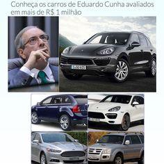 Conheça os carros de Eduardo Cunha avaliados em mais de R$ 1 milhão ➤ http://estadodeminas.vrum.com.br/app/noticia/noticias/2015/10/19/interna_noticias,51544/conheca-os-carros-de-eduardo-cunha-avaliados-em-mais-de-r-1-milhao.shtml ②⓪①⑤ ①⓪ ①⑨ #BrazilCorruption