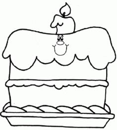 Birthdays Online birthday cake Kids activity sheets and Kid