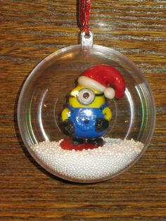 Boule de Noël Minion