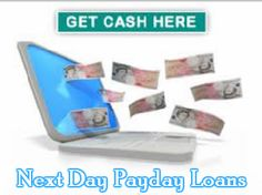Next day payday loans are the most suitable way to overcome short term financial problems easily. These loans will help you by arranging fast cash when you require urgent cash. You need not to pay extra charges or type of security to borrow cash. Many surprising financial needs can be solved with the help of this loan, which include emergency repair bills, payment of rent, outstanding or pending debts and many other household expenses. So, apply quickly!