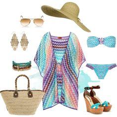 """Missoni Style"" by Coastal Style Blog. Follow us at www.birdaria.com. Love it, like it, pin it!!!"