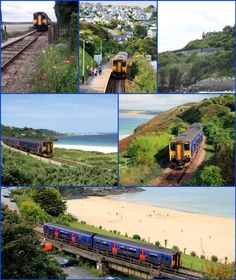 The St Ives Bay Line is a 4.25 miles (6.84 km) railway line from St Erth to St Ives in Cornwall. It was opened in 1877, the last broad gauge railway to be constructed in the country.