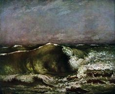 The Wave, Courbet, Gustave, 1870 French Paintings, Art Paintings For Sale, Carpeaux, Gustave Courbet, Georges Braque, Oil Painters, Light Painting, French Art, Portrait