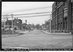 Gladstone Avenue - north from Queen Street by Toronto History, via Flickr