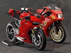 How the Ducati's motocycles evolved from the 851 to the Panigale.