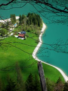 Trail running in #Austria at Lake #Achensee. More: http://trampelpfad.net
