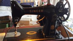 My 1957 Singer 99K.  Her name is Victoria.