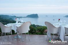 Restaurant at the Hotel La Mariposa, Costa Rica- affordable beaches