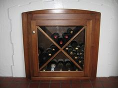 Photo of The Wood Furniture Factory - National City, CA, United States. Unused fireplace converted to built-in wine rack. Empty Fireplace Ideas, Unused Fireplace, Custom Fireplace, Fireplace Design, Fireplace Mantels, Faux Fireplace, Firewood Storage, Wine Storage, Wine Racks