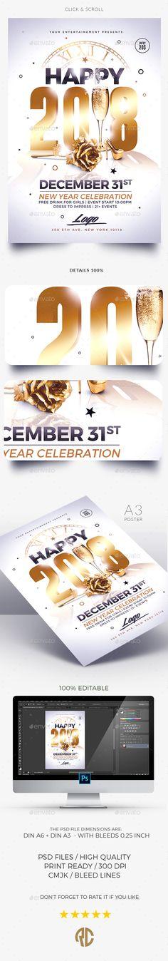 Classy New Year | Invitation
