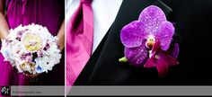 Belle Mer Wedding :: Marthé and Ryan. Pink orchid bout.