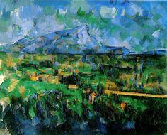 """""""Monte Sainte-Victoire"""" (1902) – Paul Cézanne"""