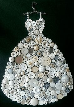 Creatief met knopen en knoopjes - knutseltips | knoopjes | knopen | knutselen | knutselen met knoopjes | button art | creatief met knoopjes | knopen knutselen | knutselwerkje knopen