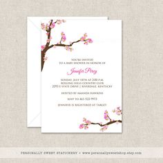 Hey, I found this really awesome Etsy listing at https://www.etsy.com/listing/121281374/printable-baby-shower-cherry-blossom